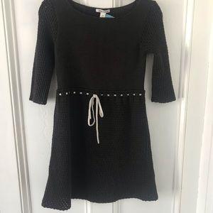 Sweet Alice + Olivia brown sweater dress